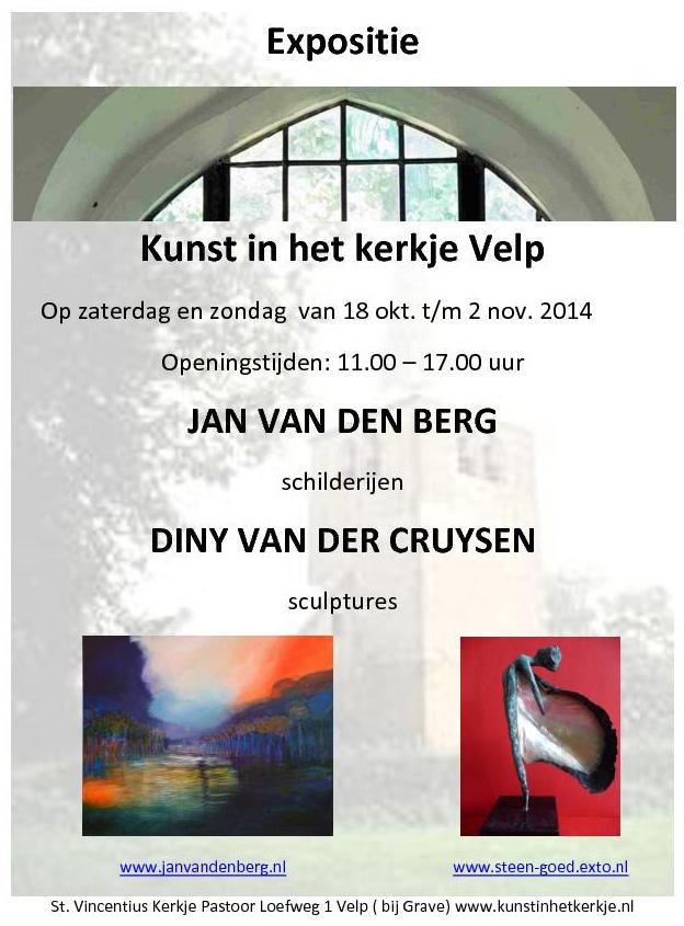 Expositie Kunst In Het Kerkje Velp